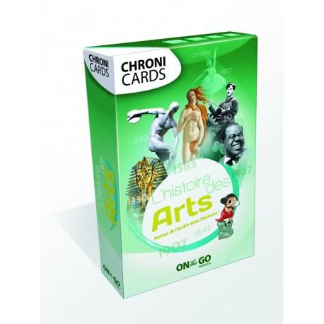 Chronicards : Histoire des Arts