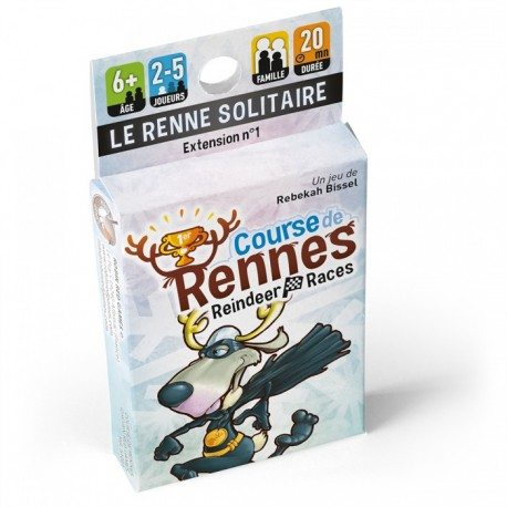 Course de Rennes - Extension 1 : Le renne solitaire