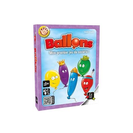 Ballons - Boite carton