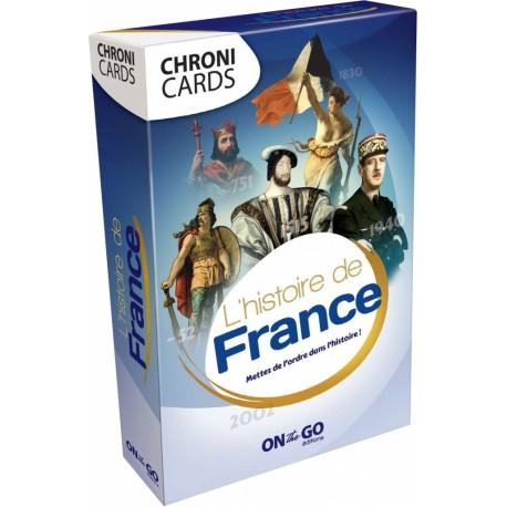 Chronicards : L'histoire de France