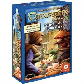 Carcassonne, l'extension 2 : Marchands et bâtisseurs
