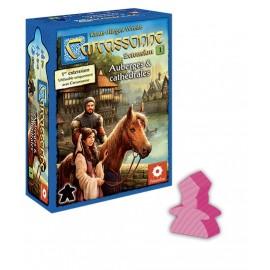 Carcassonne, l'extension 1 : Auberges et Cathédrales