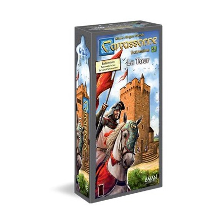 Carcassonne - Extension 4 : La Tour