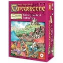 Carcassonne, l'extension : Bazars, ponts et forteresses
