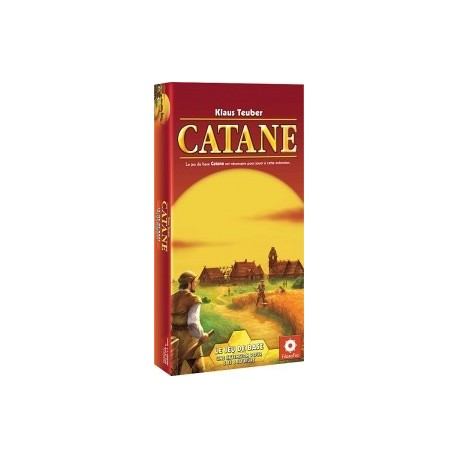 Catane, l'extension 5/6 joueurs