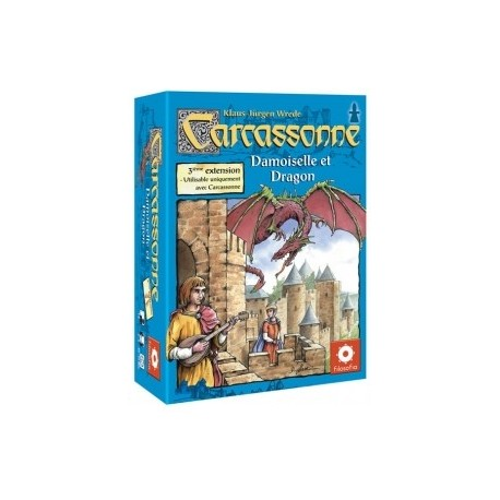 Carcassonne, l'extension : Princesse et Dragon