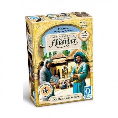 Alhambra, l'extension 5 : Le Pouvoir du Sultan