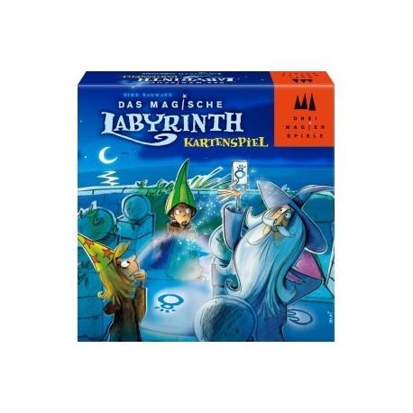 Le labyrinthe magique - le jeu de cartes